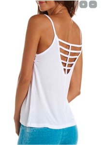 cage back cami