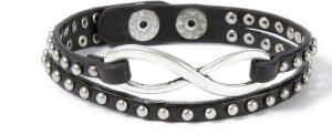 studded infinity bracelet