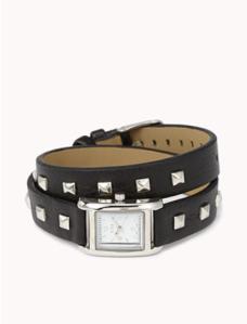 studded watch