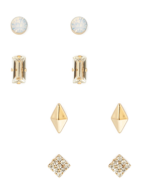 bejeweled stud set f21