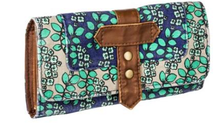floral wallet target