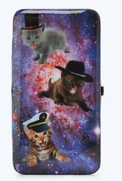 kitties in space wallet