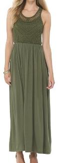 target maxi dress olive