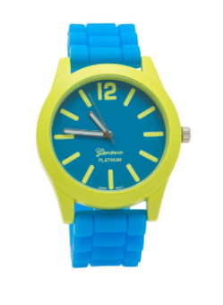 two tone silicone watch gojane