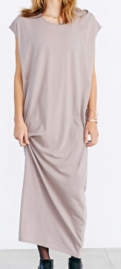 urban outfitters maxi dress brown