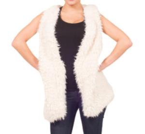 faux fur vest 1