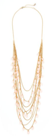 gold multilayer long necklace rue 21