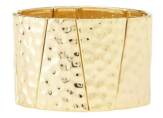 gold stretch cuff charlotte russe