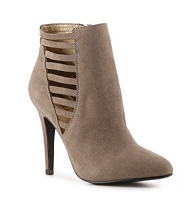 kelly and katie taupe booties dsw