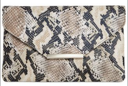 style and co snakeskin clutch macys