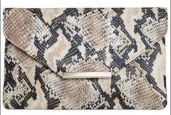 style and co snakeskin clutch macys