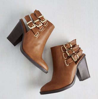 citywide open spaces bootie modcloth