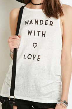 wander with love tank Forever 21