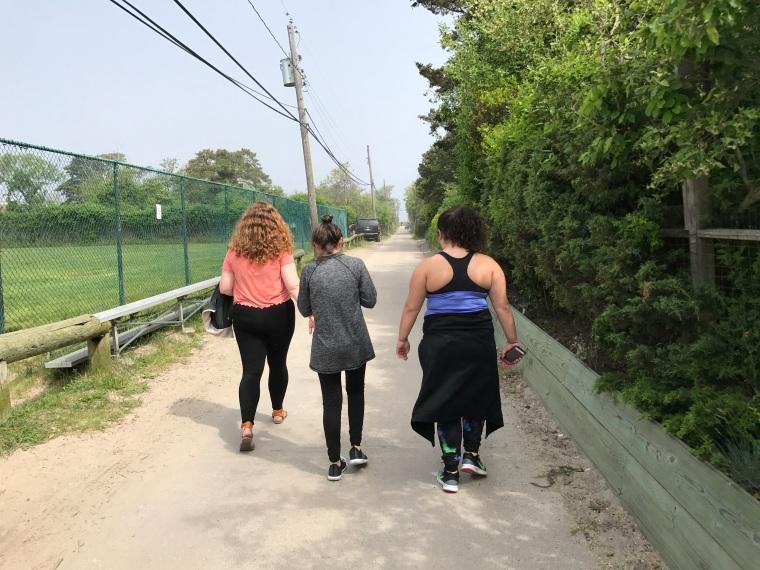 trio walk
