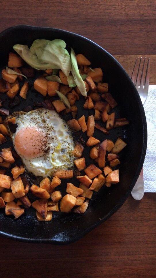 sweet potato breakfast skillet