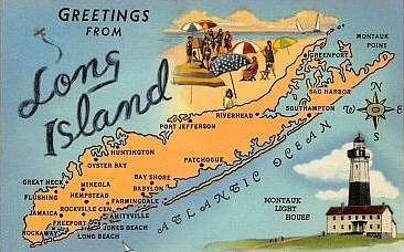 long island postcard