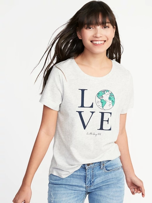 LOVE t-shirt old navy